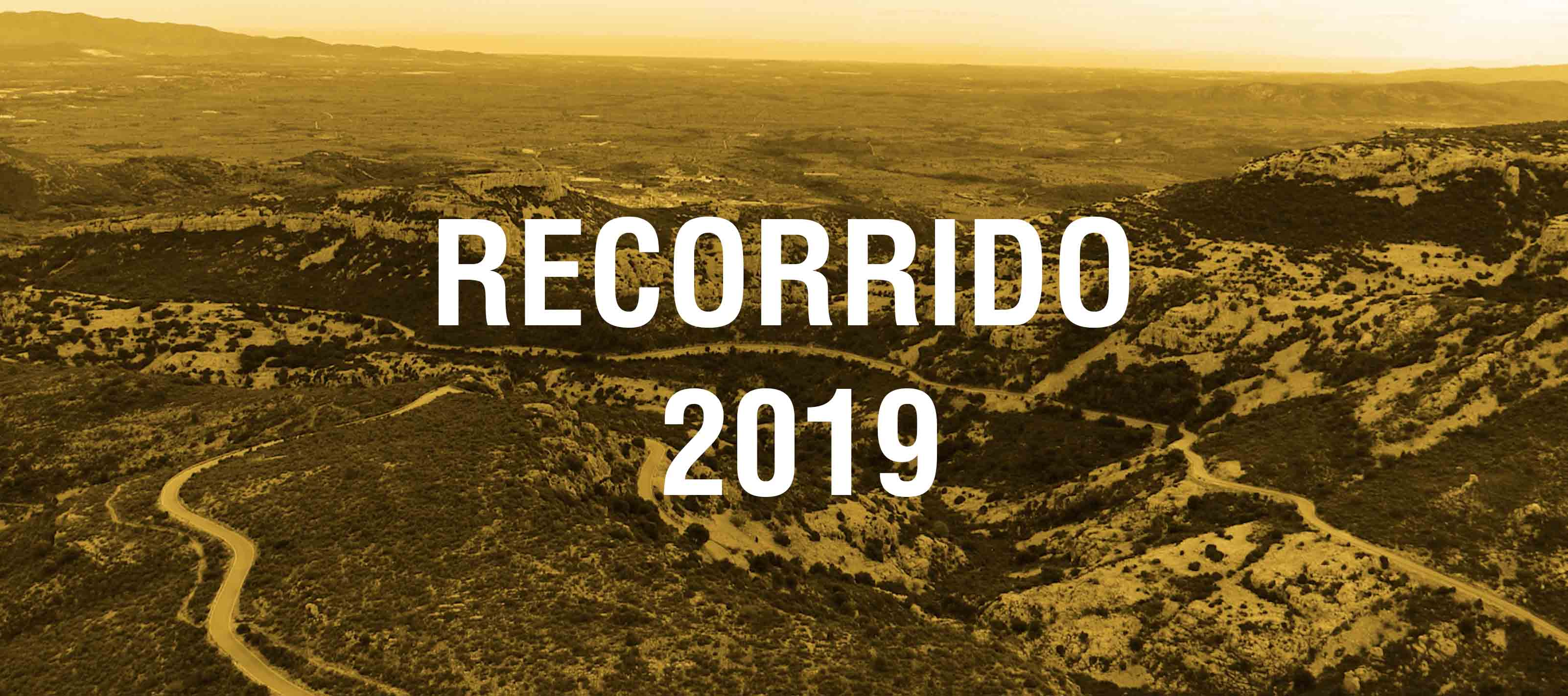 Recorrido Challenge de la Plana 2019